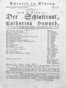 Der Schlaftrunk, oder: Catharina Howard - Alexander Dumas