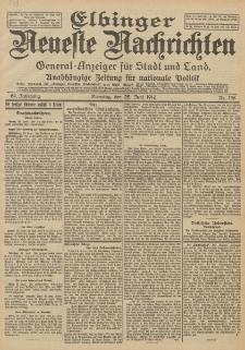 Elbinger Neueste Nachrichten, Nr. 146 Dienstag 25 Juni 1912 64. Jahrgang