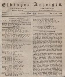Elbinger Anzeigen, Nr. 57. Sonnabend, 18. Juli 1840