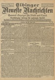 Elbinger Neueste Nachrichten, Nr. 151 Sonntag 30 Juni 1912 64. Jahrgang