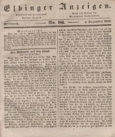 Elbinger Anzeigen, Nr. 96. Mittwoch, 2. Dezember 1840