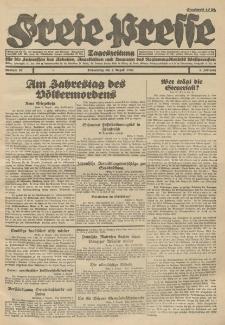 Freie Presse, Nr. 97 Donnerstag 4. August 1927 3. Jahrgang