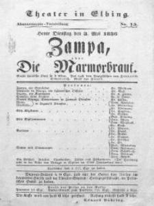 Zampa, oder: Die Marmorbraut - Frederike Elmenreich