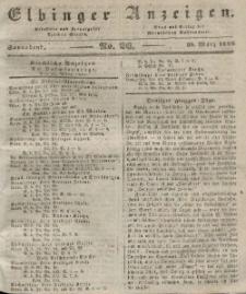 Elbinger Anzeigen, Nr. 26. Sonnabend, 30. März 1844