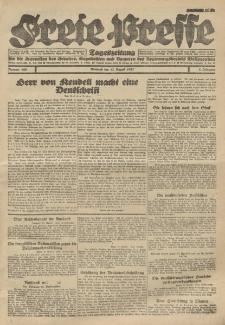 Freie Presse, Nr. 108 Mittwoch 17. August 1927 3. Jahrgang