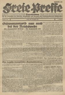 Freie Presse, Nr. 110 Freitag 19. August 1927 3. Jahrgang