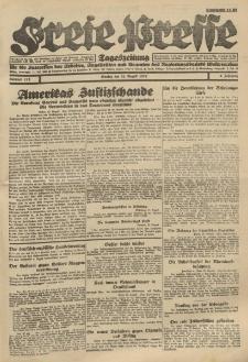 Freie Presse, Nr. 112 Montag 22. August 1927 3. Jahrgang