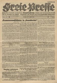 Freie Presse, Nr. 113 Dienstag 23. August 1927 3. Jahrgang