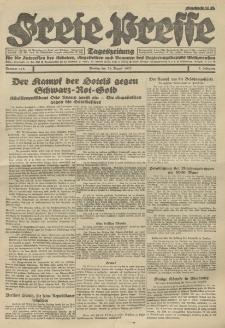 Freie Presse, Nr. 118 Montag 29. August 1927 3. Jahrgang