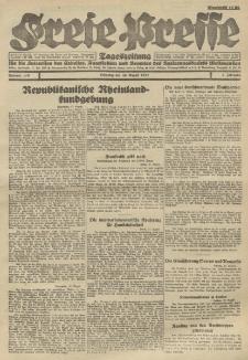 Freie Presse, Nr. 119 Dienstag 30. August 1927 3. Jahrgang
