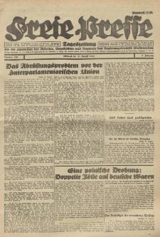 Freie Presse, Nr. 120 Mittwoch 31. August 1927 3. Jahrgang