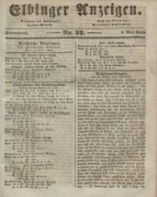 Elbinger Anzeigen, Nr. 37. Sonnabend, 9. Mai 1846