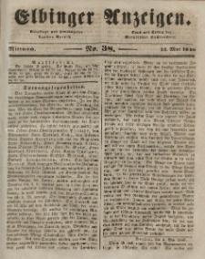 Elbinger Anzeigen, Nr. 38. Mittwoch, 13. Mai 1846