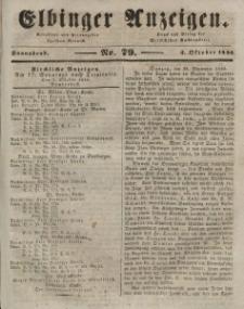 Elbinger Anzeigen, Nr. 79. Sonnabend, 3. Oktober 1846