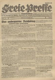Freie Presse, Nr. 134 Freitag 16. September 1927 3. Jahrgang
