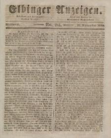 Elbinger Anzeigen, Nr. 94. Mittwoch, 25. November 1846