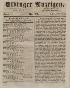 Elbinger Anzeigen, Nr. 97. Sonnabend, 5. Dezember 1846