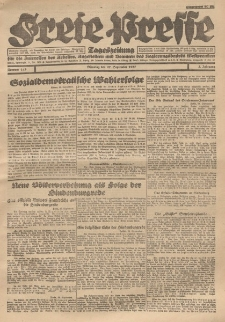 Freie Presse, Nr. 143 Dienstag 27. September 1927 3. Jahrgang