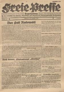Freie Presse, Nr. 144 Mittwoch 28. September 1927 3. Jahrgang