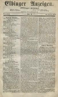 Elbinger Anzeigen, Nr. 9. Sonnabend, 31. Januar 1857
