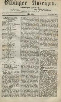 Elbinger Anzeigen, Nr. 11. Sonnabend, 7. Februar 1857