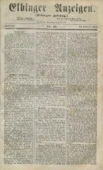 Elbinger Anzeigen, Nr. 16. Mittwoch, 25. Februar 1857