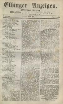 Elbinger Anzeigen, Nr. 27. Sonnabend, 4. April 1857