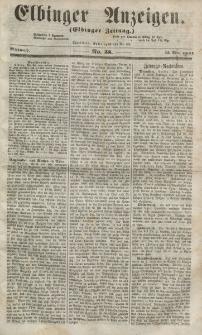 Elbinger Anzeigen, Nr. 38. Mittwoch, 13. Mai 1857