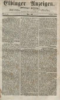 Elbinger Anzeigen, Nr. 44. Mittwoch, 3. Juni 1857