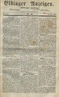 Elbinger Anzeigen, Nr. 46. Mittwoch, 10. Juni 1857