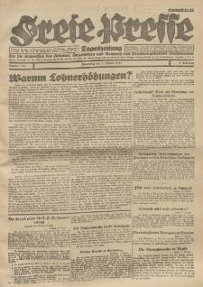 Freie Presse, Nr. 151 Donnerstag 6. October 1927 3. Jahrgang