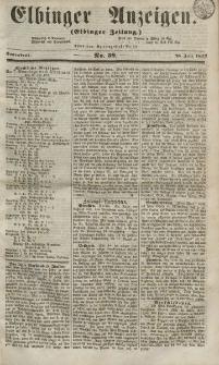Elbinger Anzeigen, Nr. 59. Sonnabend, 25. Juli 1857