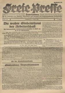 Freie Presse, Nr. 153 Sonnabend 8. October 1927 3. Jahrgang