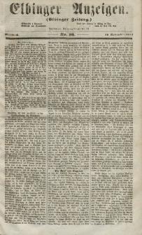 Elbinger Anzeigen, Nr. 93. Mittwoch, 18. November 1857
