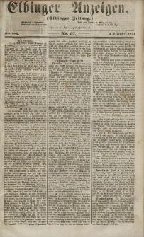 Elbinger Anzeigen, Nr. 97. Mittwoch, 2. Dezember 1857