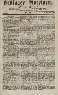 Elbinger Anzeigen, Nr. 99. Mittwoch, 9. Dezember 1857