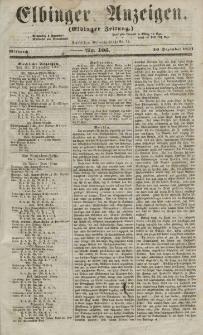 Elbinger Anzeigen, Nr. 105. Mittwoch, 30. Dezember 1857