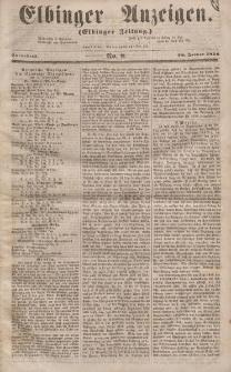 Elbinger Anzeigen, Nr. 8. Sonnabend, 26. Januar 1856