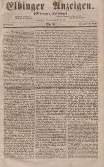 Elbinger Anzeigen, Nr. 9. Mittwoch, 30. Januar 1856