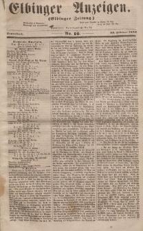 Elbinger Anzeigen, Nr. 16. Sonnabend, 23. Februar 1856