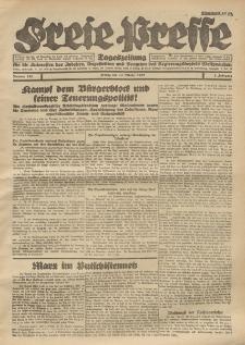 Freie Presse, Nr. 158 Freitag 14. October 1927 3. Jahrgang
