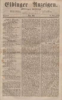 Elbinger Anzeigen, Nr. 23. Mittwoch, 19. März 1856