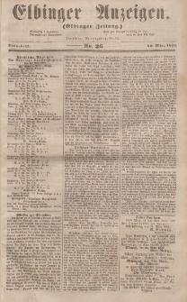 Elbinger Anzeigen, Nr. 26. Sonnabend, 29. März 1856