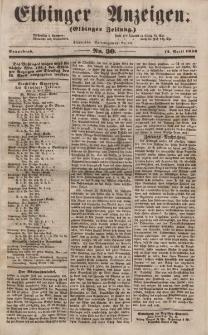 Elbinger Anzeigen, Nr. 30. Sonnabend, 12. April 1856