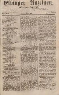 Elbinger Anzeigen, Nr. 32. Sonnabend, 19. April 1856