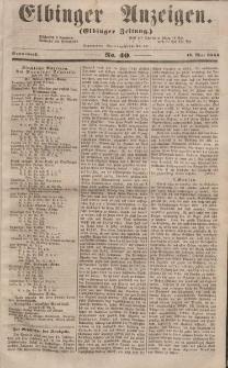Elbinger Anzeigen, Nr. 40. Sonnabend, 17. Mai 1856