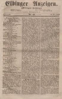 Elbinger Anzeigen, Nr. 42. Sonnabend, 24. Mai 1856