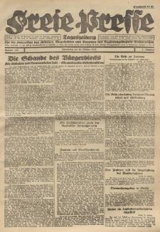Freie Presse, Nr. 163 Donnerstag 20. October 1927 3. Jahrgang