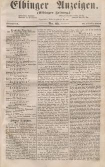 Elbinger Anzeigen, Nr. 84. Sonnabend, 18. Oktober 1856