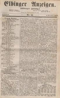 Elbinger Anzeigen, Nr. 90. Sonnabend, 8. November 1856